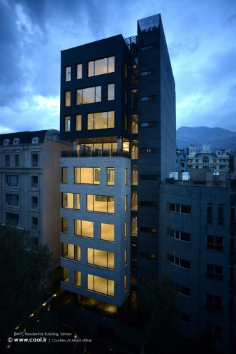 BW7  Residential Building in Tehran  1