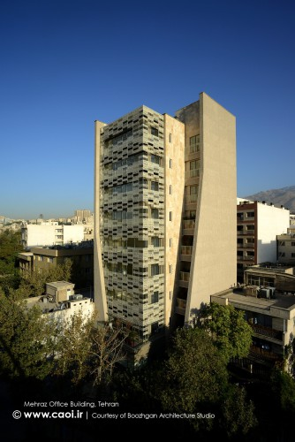 Mehraz Office Building in Tehran Boozhgan Architecture Office  1