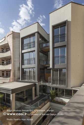 Bagh Mashad Residential Apartments  Bracket Design Studio  1