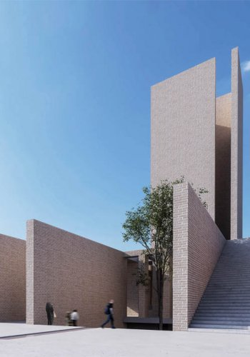 3rd place | Golshahr Mosque and Plaza competition | رتبه سوم مسابقه مسجد و میدان پلازا گلشهر کرج