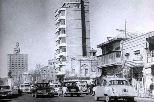 اولین بنای بلند تهران